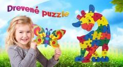 Zľava 61%: Skvelá hračka pre vašich najmenších. S drevenými puzzle si deti ľahko osvoja farby, jemnú motoriku i základy logiky. Presvedčte sa, že zábava môže i vzdelávať.
