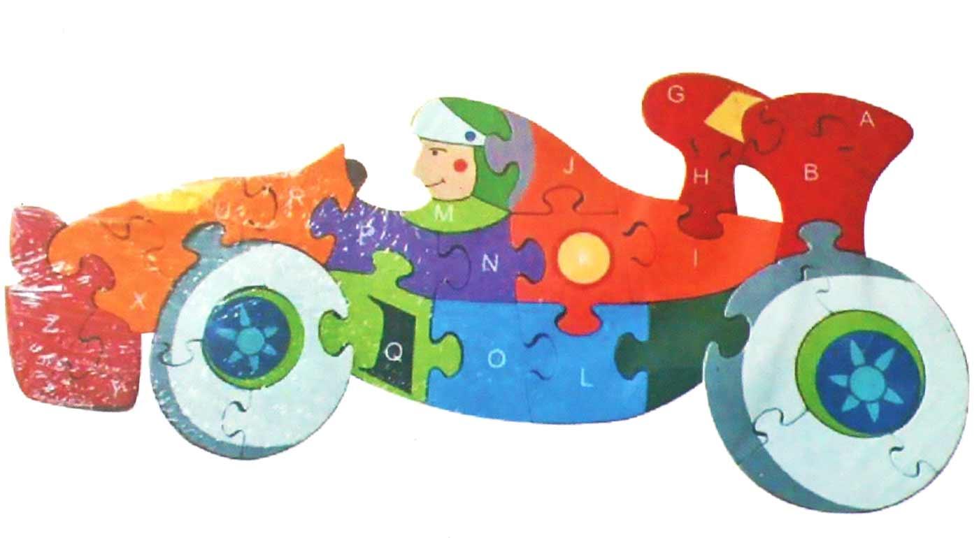 Drevené puzzle - formula