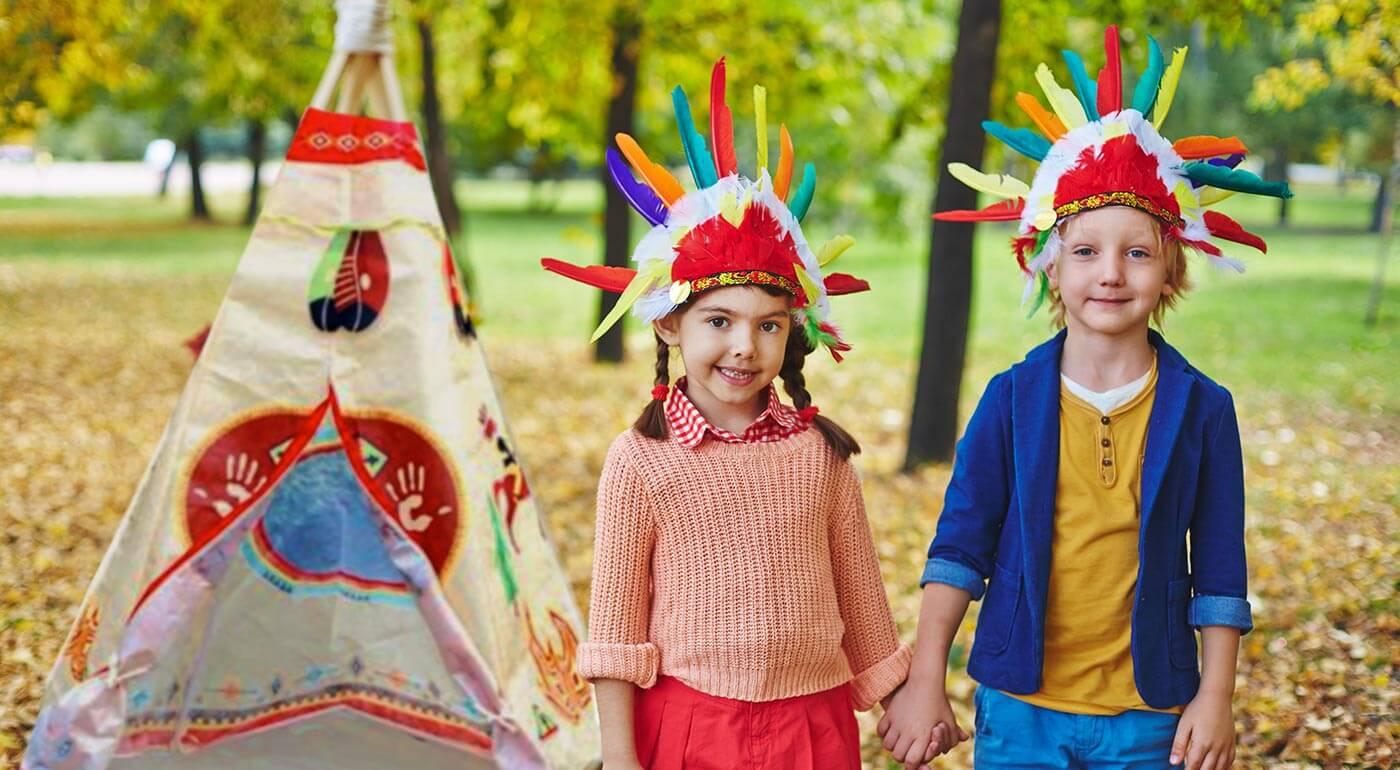 Doprajte vášmu drobcovi dlhé hodiny zábavy a jedinečnú skrýšu do ktorej schová celý svoj detský svet fantázie. Prekvapte vaše deti indiánskym stanom v atraktívnom dizajne.