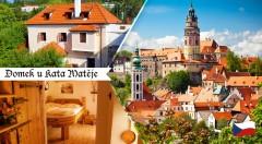 Zľava 34%: Máte už dosť prepychu kráľovských palácov, hradov či zámkov? Skúste trochu iný zážitok v Penzióne Domek kata Matěje v nádhernom Českom Krumlove!
