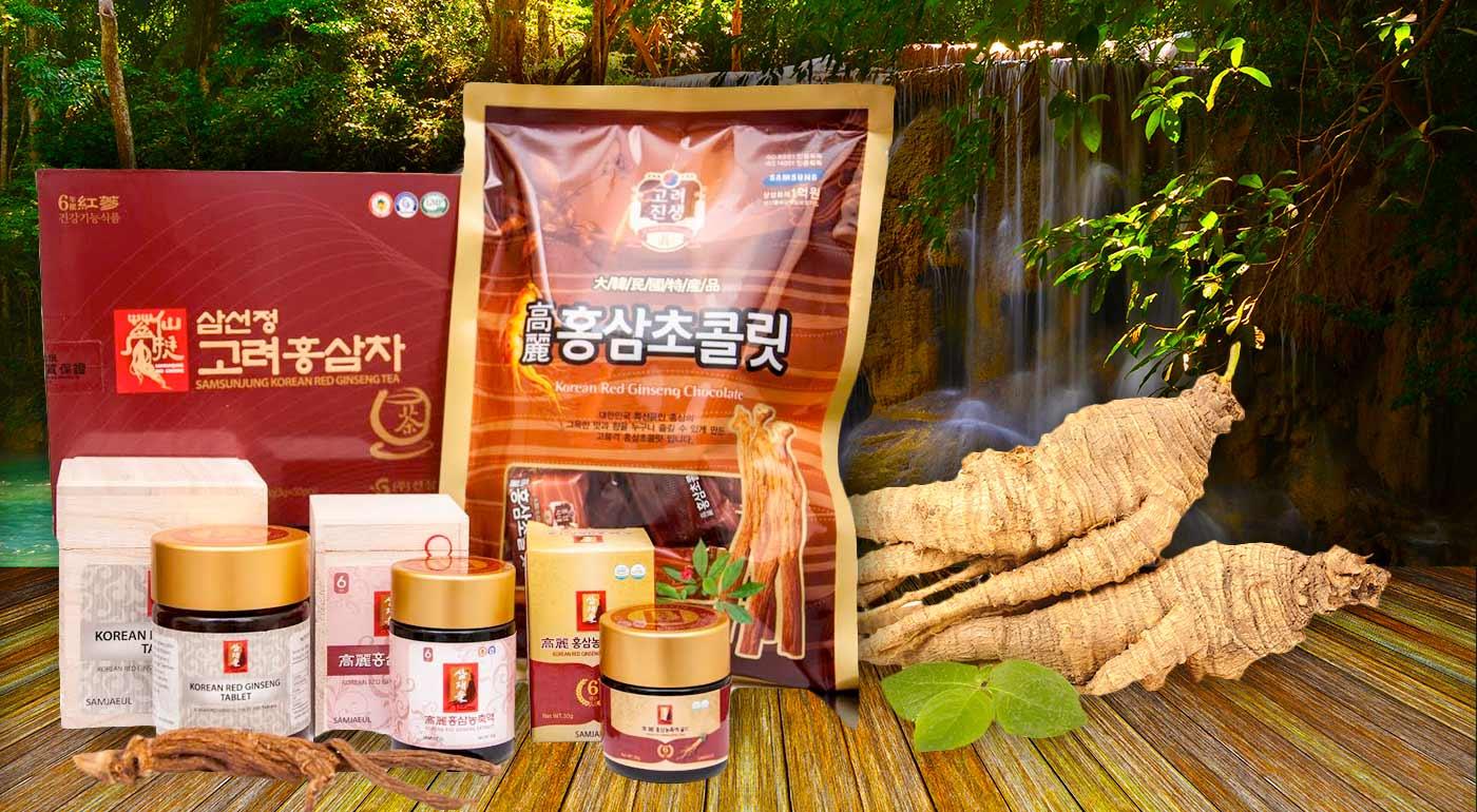 Fotka zľavy: Vyskúšajte kórejský elixír života - ženšenové kocky, pastilky, extrakt Gold či zmes na prípravu nápoja.