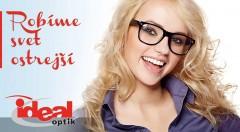 Zľava 71%: Dioptrické sklá s antireflexom, PC filtrom, hydrofóbnou úpravou a tvrdením vrátane vyšetrenia zraku zdarma a zľavy na akýkoľvek rám v predajni Idealoptik. Kvalitné služby pre váš zrak!