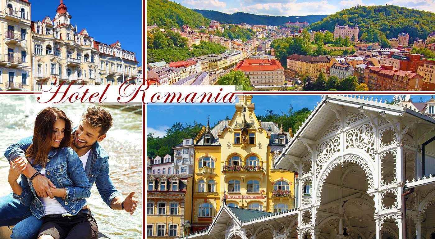 Relaxačný pobyt v Hoteli Romania*** v Mariánskych Lázňach s množstvom procedúr