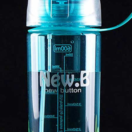 Ekofľaša so sprejom (600 ml) - farba modrá