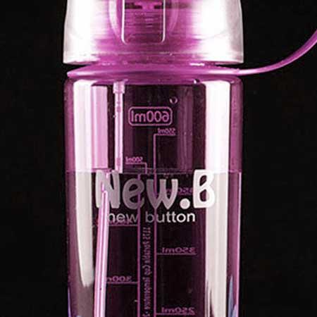 Ekofľaša so sprejom (600 ml) - farba ružová