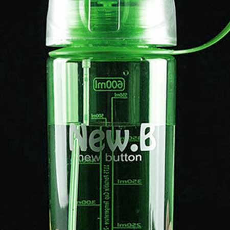 Ekofľaša so sprejom (600 ml) - farba zelená