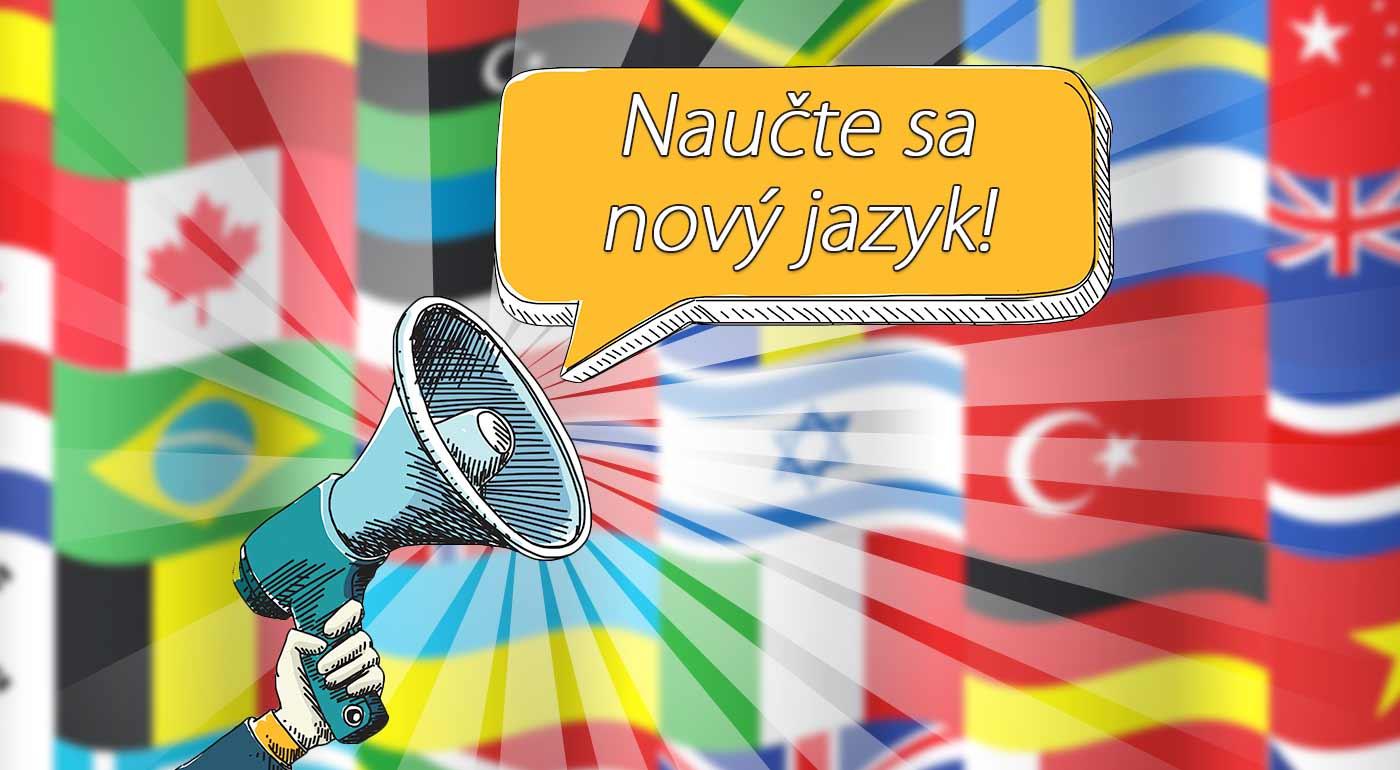 Jazykové kurzy angličtiny, nemčiny, francúzštiny, ruštiny, ukrajinčiny alebo taliančiny v Bratislave