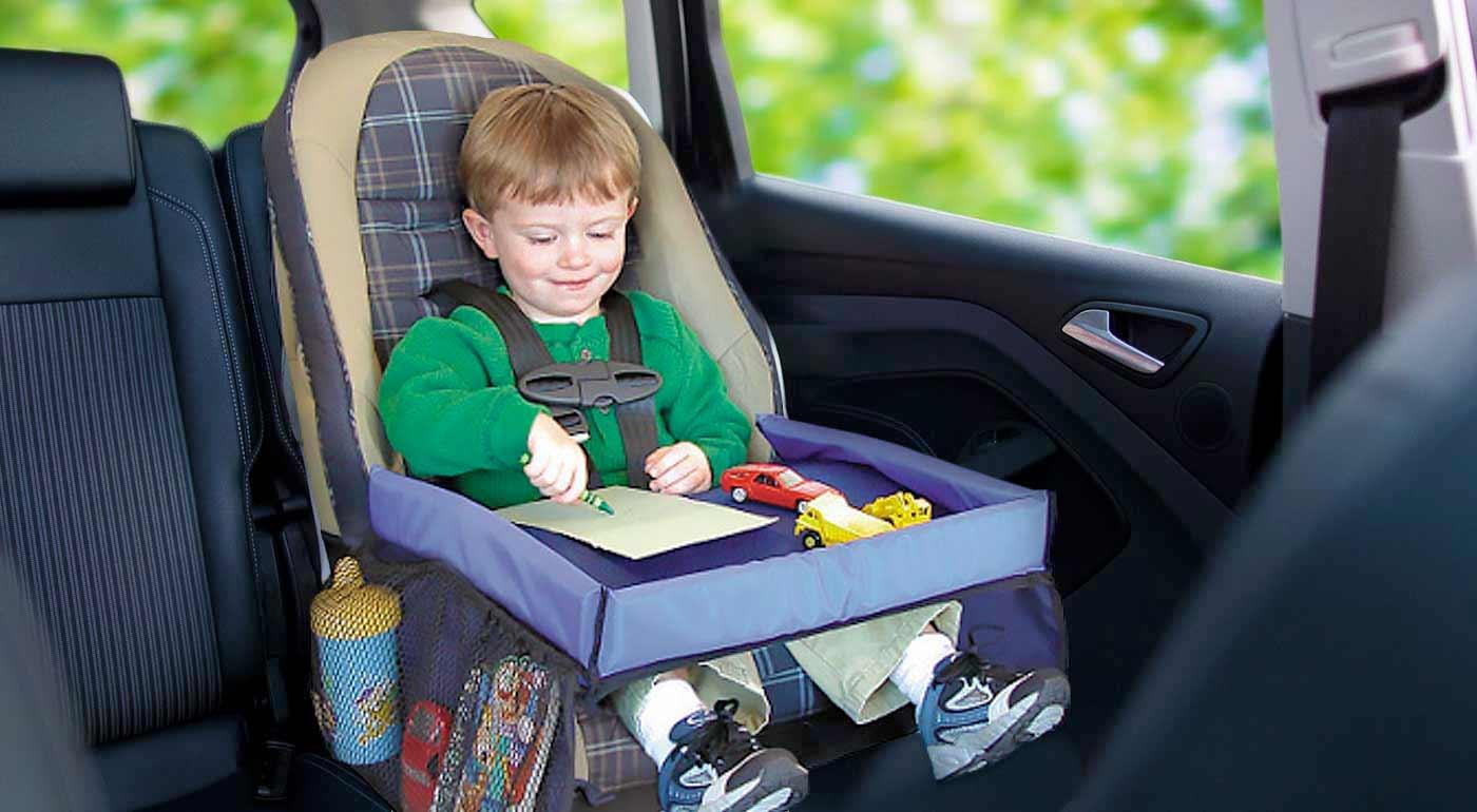 Univerzálny mobilný stolík pre vaše deti do auta i do domácnosti