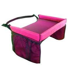 Univerzálny mobilný stolík pre deti - farba ružová