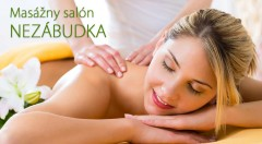 Zľava 39%: Zájdite do masážneho salónu NEZÁBUDKA v Bratislave a doprajte si masáž, ktorá ulahodí vášmu telu aj duši. Čaká na vás relaxačno-liečebná masáž s REIKI v trvaní 45 alebo 60 minút.