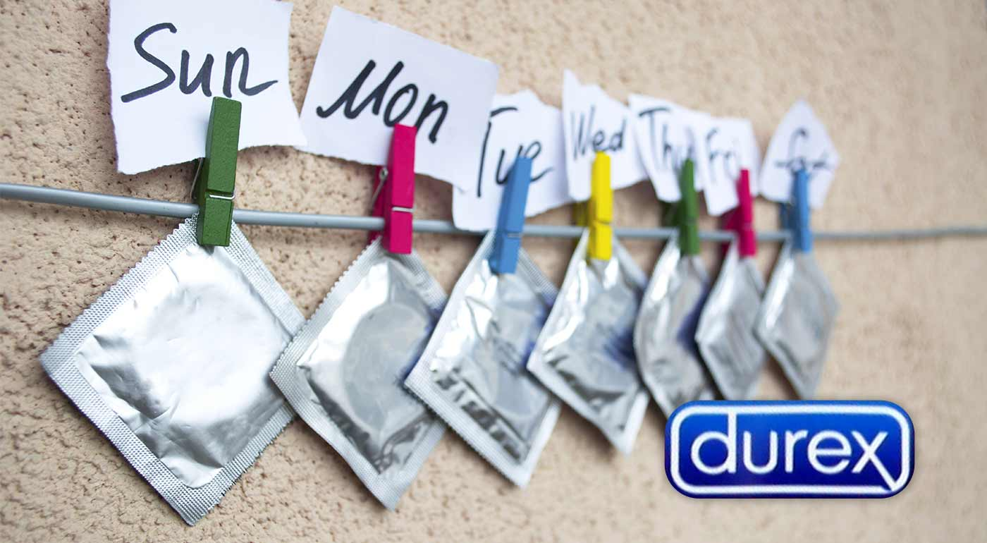 Balíčky kondómov Durex a Pasante + 2 ks lubrikačného gélu ako darček!