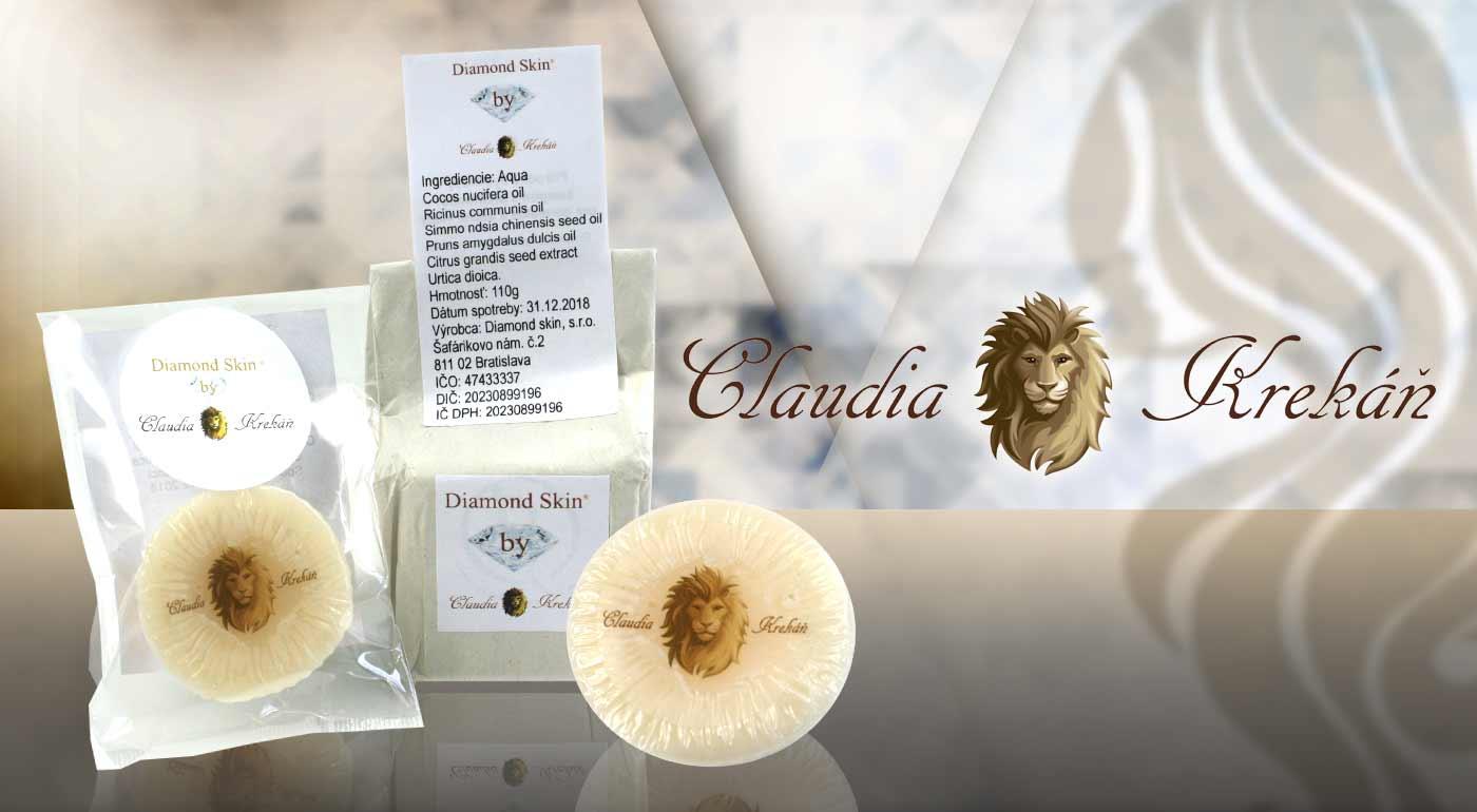 Prírodné vlasové prípravky z dielne Diamond Skin by Claudia Krekáň® - vyskúšajte úplnú NOVINKU - tuhý kondicionér!