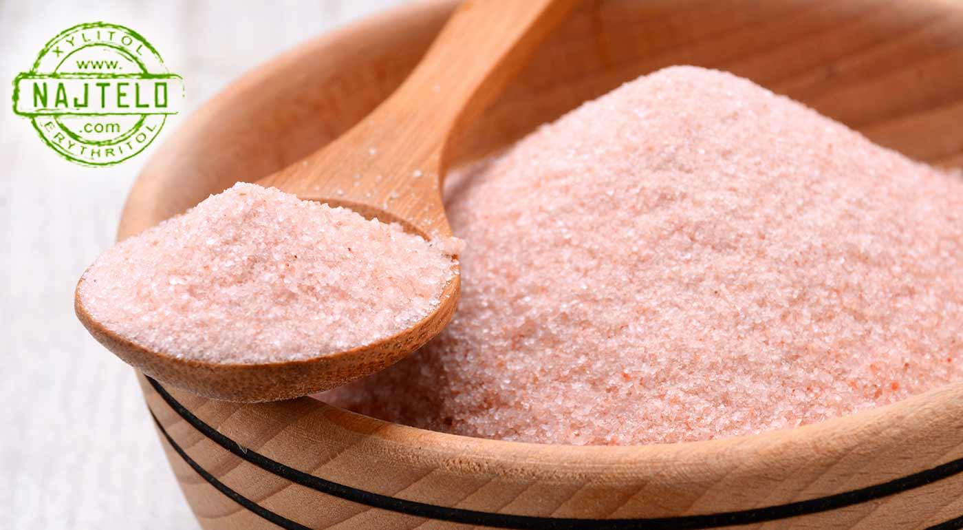 Fotka zľavy: Neničte si zdravie bežnou soľou z obchodu. Prejdite na oveľa zdravšiu, prírodnú mletú himalájsku soľ a vaše telo sa vám poďakuje.