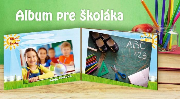 Zľava 65%: Škola volá a k začiatku školského roka nevyhnutne patrí skvelý ilustrovaný album na fotky. Darujte vašim ratolestiam špeciálny darček v tvrdých doskách!