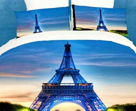3D obliečky - Eiffelova veža