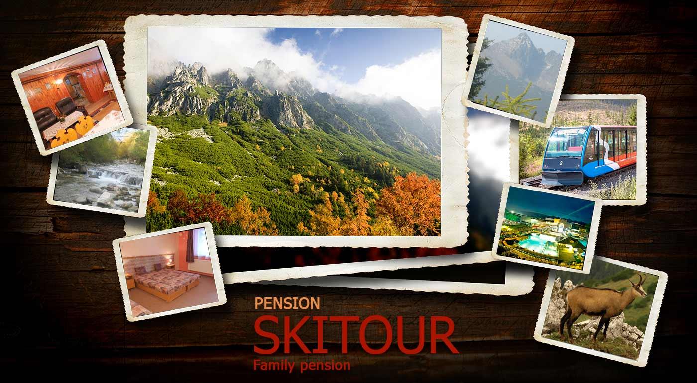 Jeseň v Tatrách v Penzióne Skitour**+ na 3 alebo 4 dni