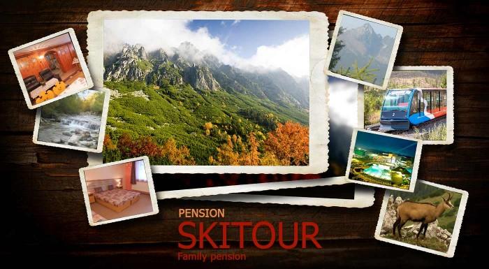 Fotka zľavy: Užite si babie leto v krásnej jesennej prírode Vysokých Tatier. čakajú vás 3 alebo 4 dni v penzióne Skitour**+ vrátane raňajok a celodenného vstupu do Aquacity Poprad.
