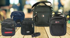 Zľava 50%: Pánske nylonové tašky v 3 rôznych veľkostiach sa stanú vašimi vernými spoločníkmi či už sa vyberiete na turistiku alebo do mesta. Kvalitné prevedenie a odolný materiál.