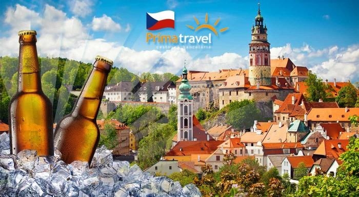 Fotka zľavy: Cestuje z rozprávky do rozprávky. Vyberte sa na skvelý dvojdňový výlet do zámkov v južných Čechách s návštevou pivovaru v Českých Budějoviciach.