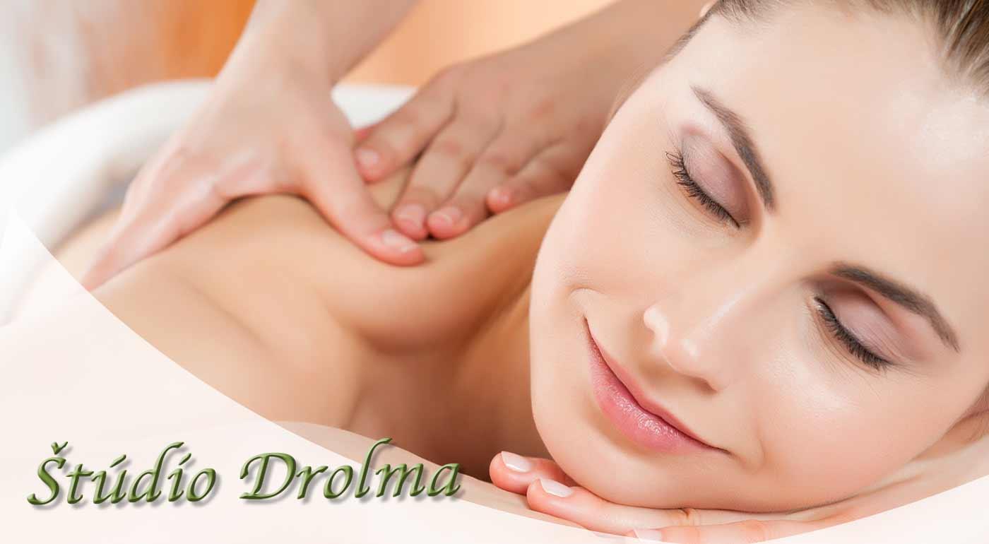 Klasická masáž so zameraním na krčnú chrbticu pre všetkých so sedavou prácou - navštívte Štúdio Drolma
