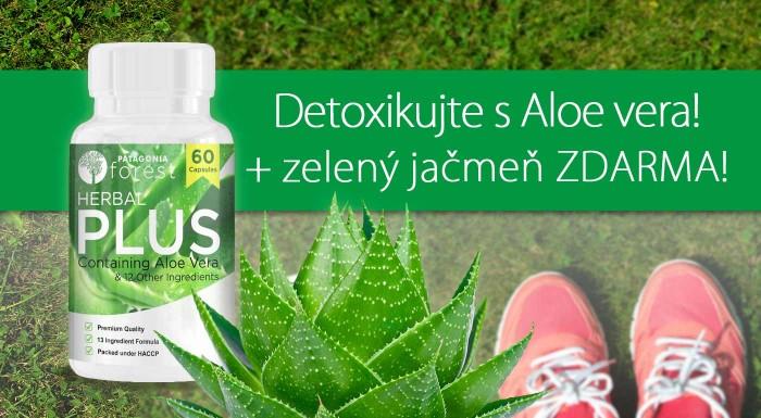 Fotka zľavy: Herbal Plus komplex s aloe vera pre detox a očistu