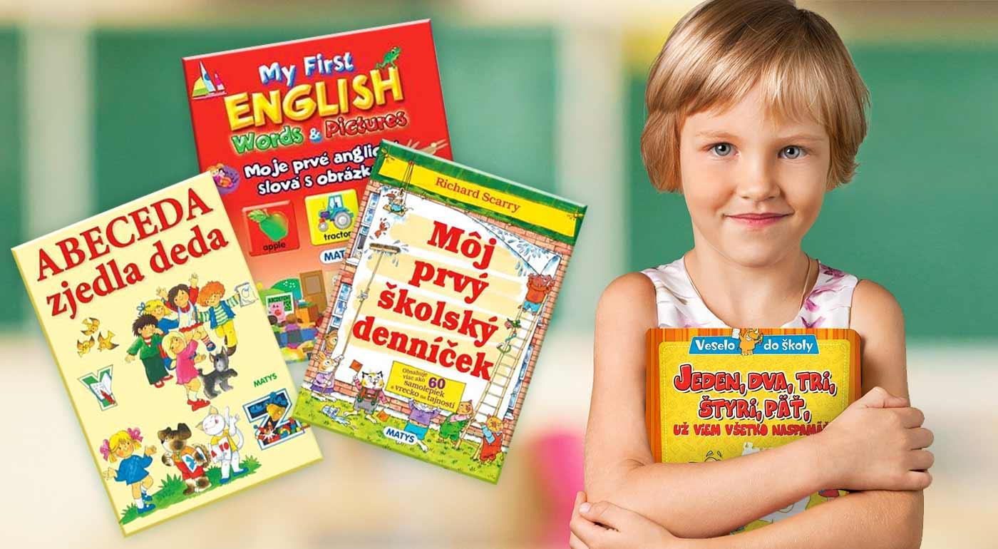 Do nového školského roka so skvelou knižnou nádielkou pre malých školákov a predškolákov