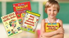 Zľava 40%: Nádherne ilustrované knižky z vydavateľstva Matys sa stanú vernými priateľmi všetkých malých školákov či predškolákov.  Vaše deti si osvoja základy angličtiny, abecedu alebo čísla hravým spôsobom.