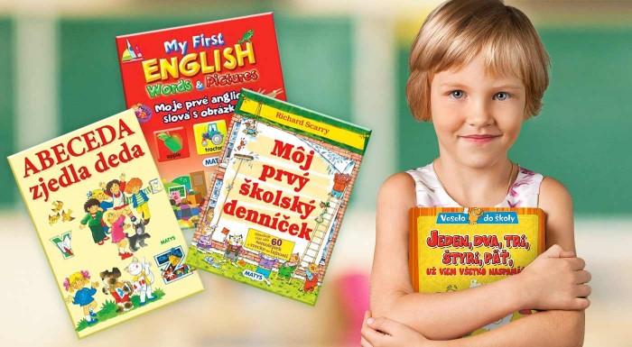 Fotka zľavy: Detské knižky pre školákov a predškolákov