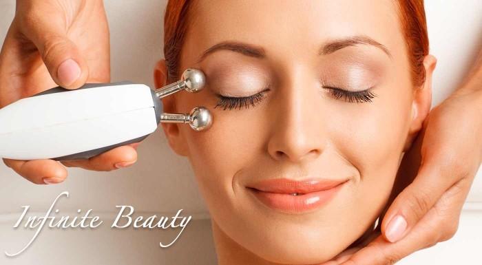 Fotka zľavy: Rádiofrekvencia a masáž tváre pre omladenie pleti