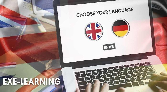 Fotka zľavy: Angličtina a nemčina cez exe-learning