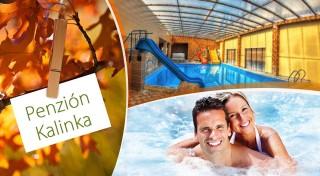 Zľava 40%: Trojdňová očista organizmu v Penzióne Kalinka v podobe neobmedzeného vstupu do termálneho bazéna, sáun či fitness spolu s polpenziou alebo raňajkami.