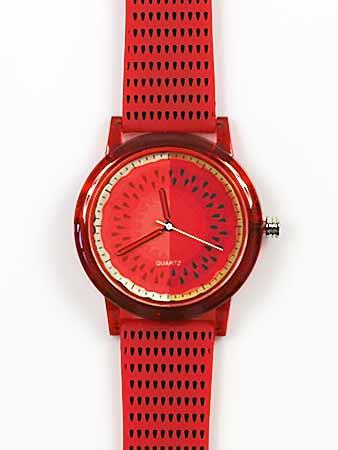 Dámske hodinky - červené