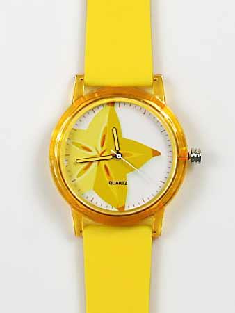 Dámske hodinky - žlté