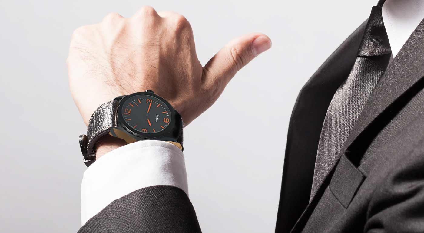 Športovo-elegantné pánske hodinky 6e9351e57a9