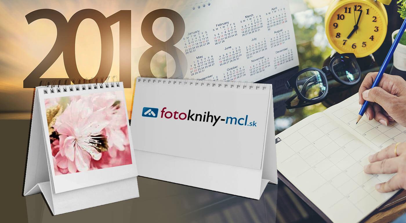 Kalendáre z vašich vlastných fotografií - nástenný, stolový alebo plánovací