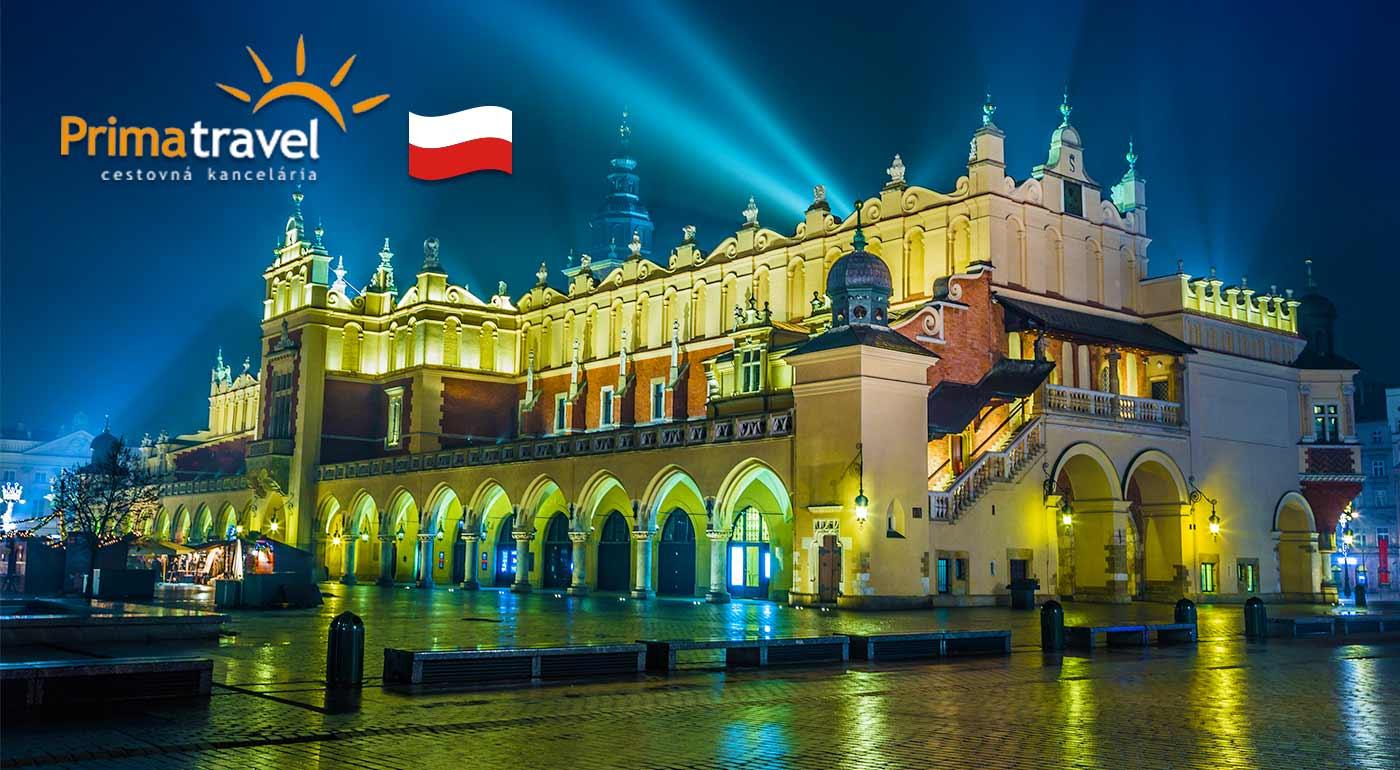 Adventný zájazd na rozvoniavajúce vianočné trhy do Krakowa