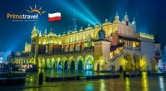 Zľava 44%: Vianočná nálada, rozvoniavajúce stánky a odvšadiaľ znejúce koledy. Príďte si nabrať priehrštia adventnej atmosféry do poľského Krakowa v rámci špeciálneho zájazdu.