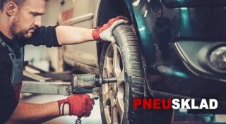 Zľava 52%: Využite akciu na prezutie pneumatík a kompletné vyváženie oceľových alebo hliníkových diskov. Ak máte málo miesta, v pneuservise Pneusklad pri Kuchajde vám pneumatiky radi uskladnia.