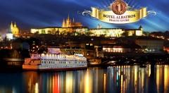 Zľava 34%: Vychutnajte si romantiku vo dvojici na vlnách Vltavy počas 3 dní v Boteli Albatros*** v centre Prahy vrátane raňajok, bohatej večere a fľaše vína.