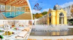 Zľava 30%: Užite si nádherné dni v kúpeľných Mariánskych Lázňach v Hoteli Krakonoš ***+. Čakajú vás chvíle nabité wellness relaxom v krásnom prírodnom prostredí nad mestom.