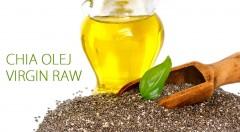 Zľava 53%: Doprajte vášmu telu extra porciu zdravia v podobe za studena lisovaného oleja zo semienok chia. Využijete ho v studenej, i vegeteriánskej či vegánskej kuchyni.