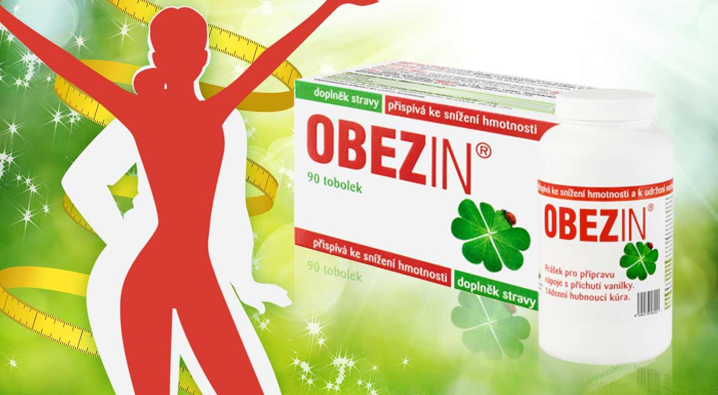 Prípravky na chudnutie Obezin® pre štíhlu líniu