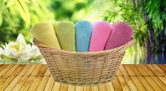 Zľava 40%: Osušiek nikdy nie je dosť. Obzvlášť keď ide o kvalitné osušky vyrobené zo 100% bambusového vlákna, ktoré je ešte viac savé než bavlna.