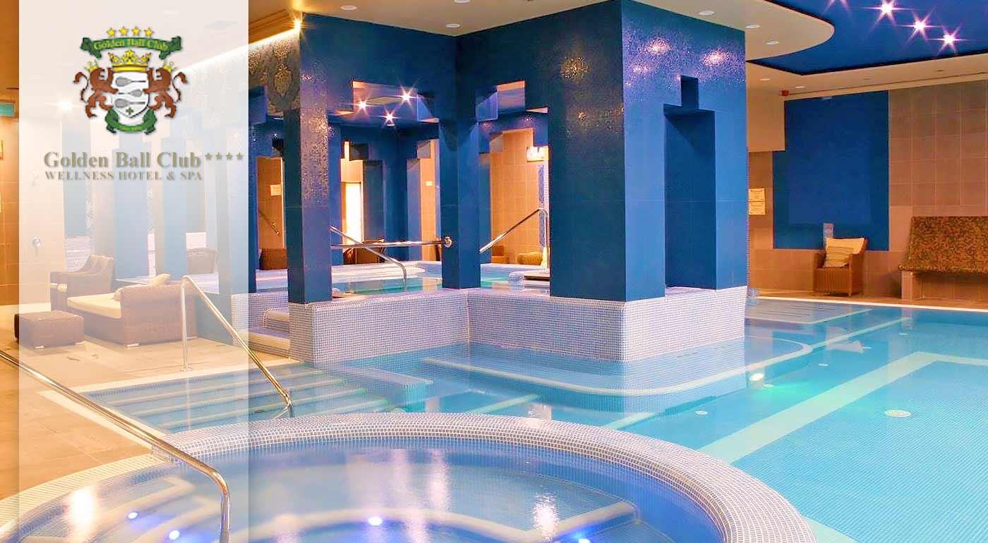 Wellness oddych ako pre kráľov v Golden Ball Club**** Wellness & Spa Hotel v centre Győru