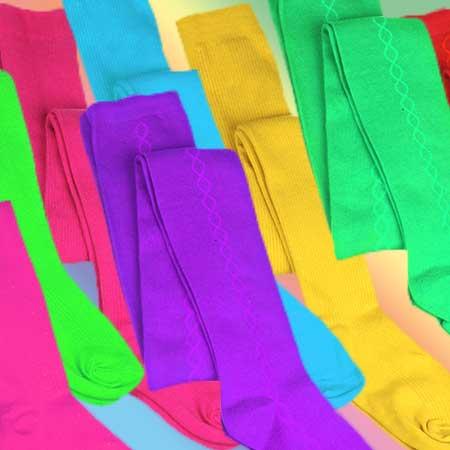 Detské pančušky Fiore - na výber rôzne farby, vzory, hrúbky a veľkosti