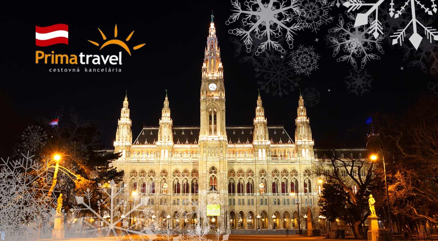 Vianočná Viedeň s prehliadkou vyzdobeného mesta, návštevou najznámejších vianočných trhov a návštevou čokoládovne