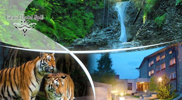 Fotka zľavy: Užite si jesennú či zimnú dovolenku v nádhernom Slovenskom raji. Vyberte sa na 3 až 7 dní do pohodového Grand Hotela Spiš *** a užite si krásne chvíle uprostred prírody.