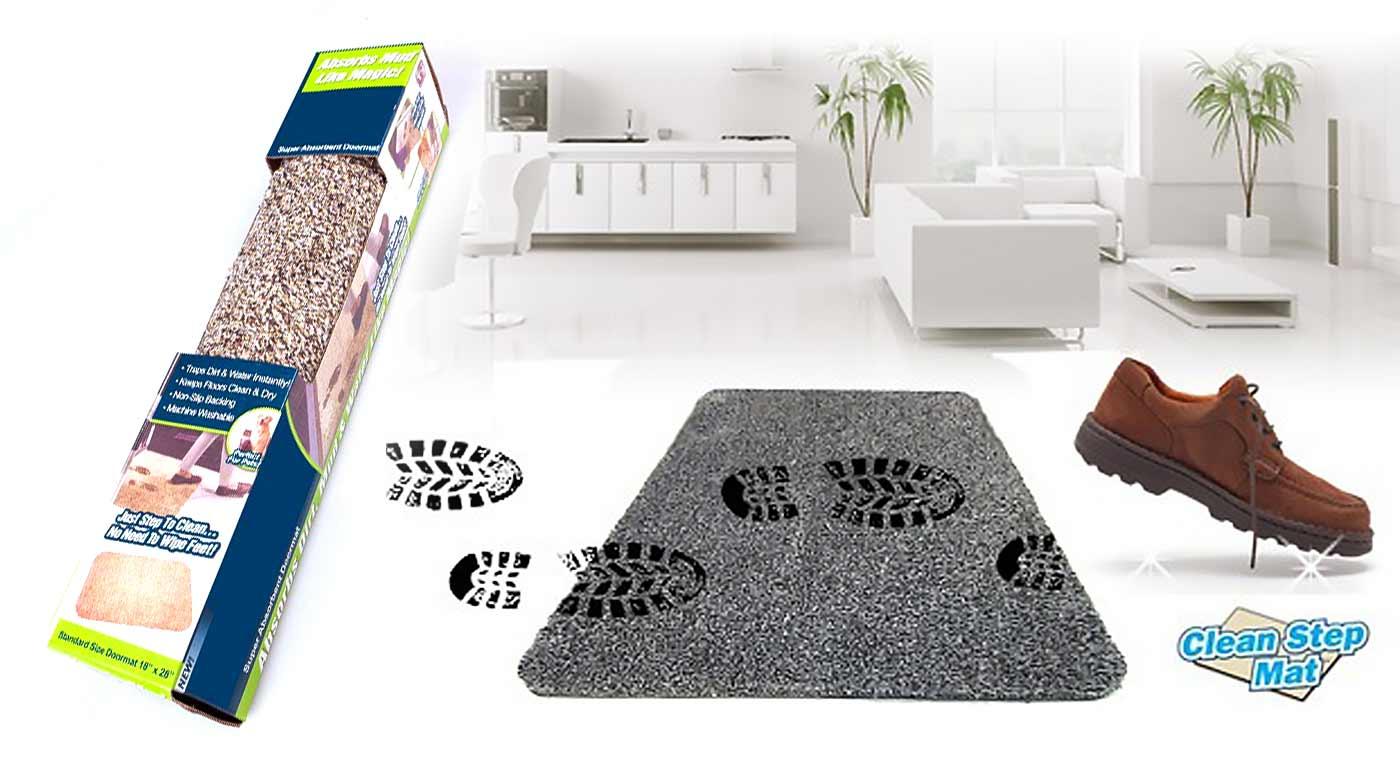 Absorpčná rohožka, ktorá udrží vaše podlahy čisté a suché