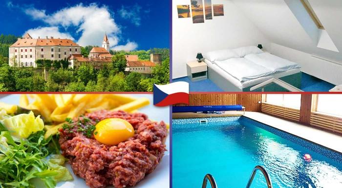 Fotka zľavy: Vyrazte za hranice a užite si skvelý pobyt na Morave v útulnom penzióne Grasel s balíčkom wellness, aktívneho oddychu a vynikajúcej polpenzie.