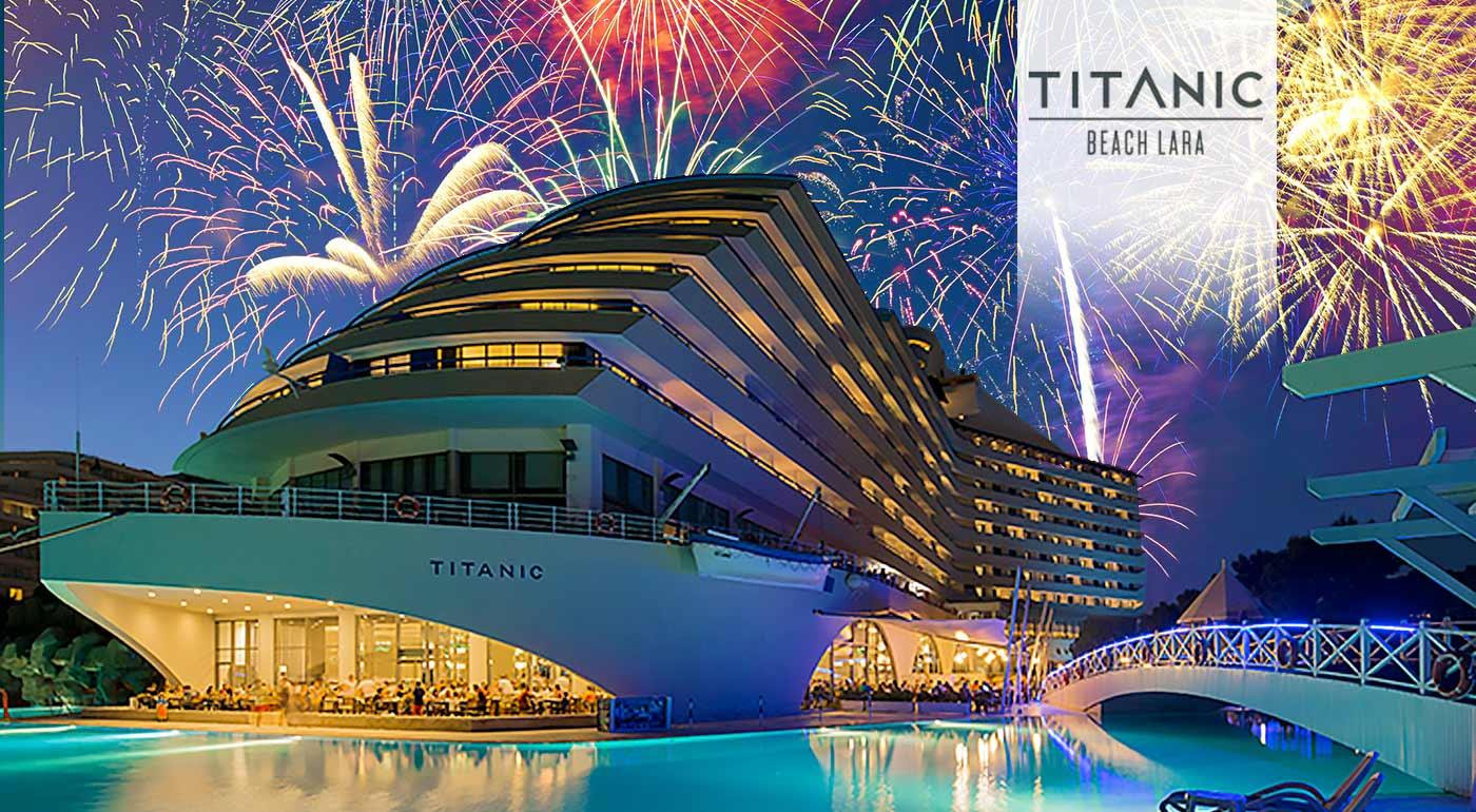Silvester na Titanicu - letecký zájazd do Turecka v 5* hoteli Titanic Lara Beach s all inclusive